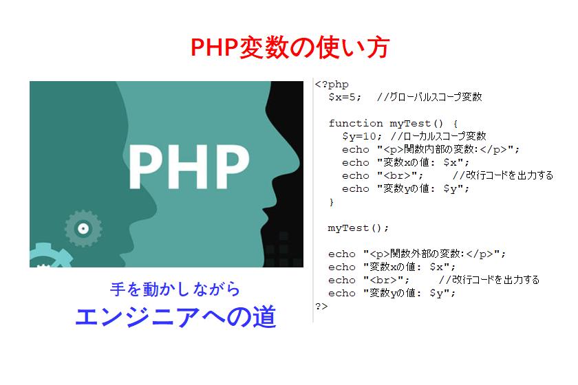 php変数使い方