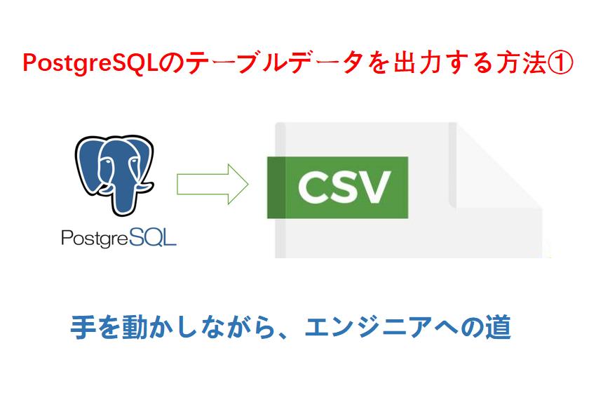 PostgreSQLのCOPYコマンド